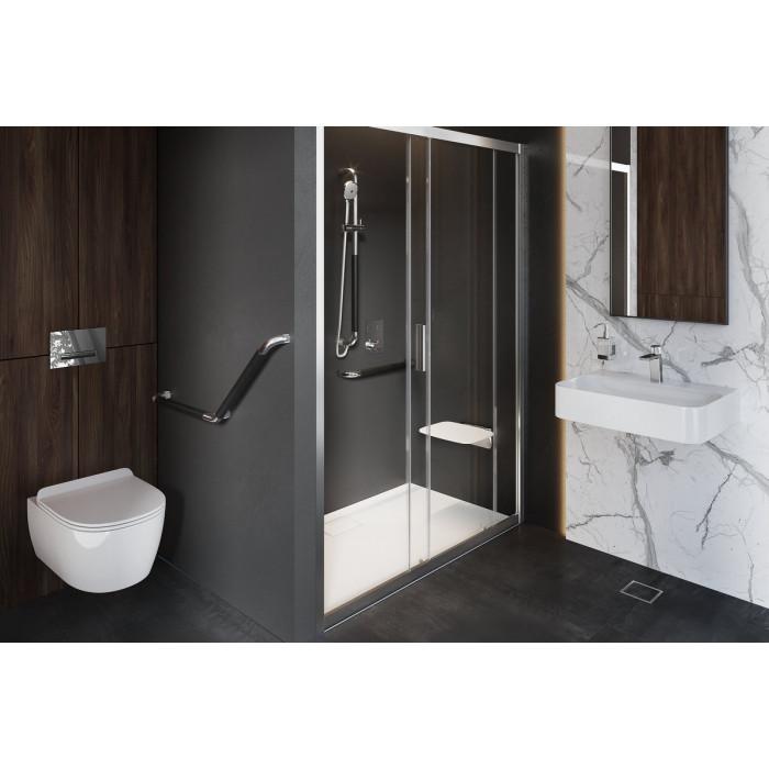 HENDI Uchwyt łazienkowy prosty 45 cm, CR