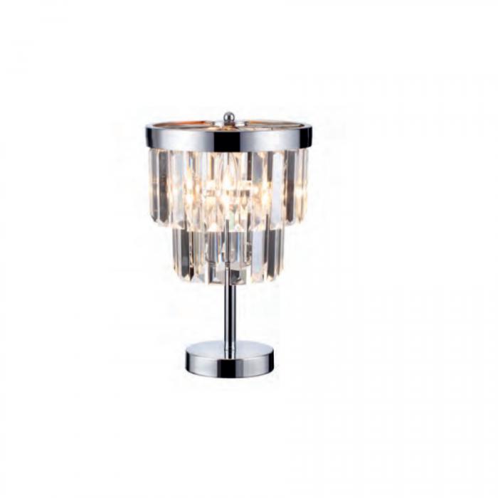 Lampa biurkowa Vetro chrom(LP-2910/1T )-Light...