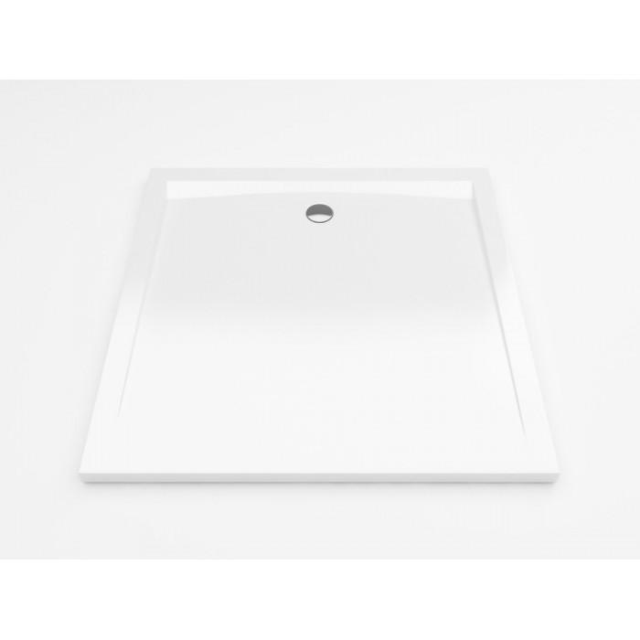 Forma Brodzik Kwadratowy 100X100 Biały