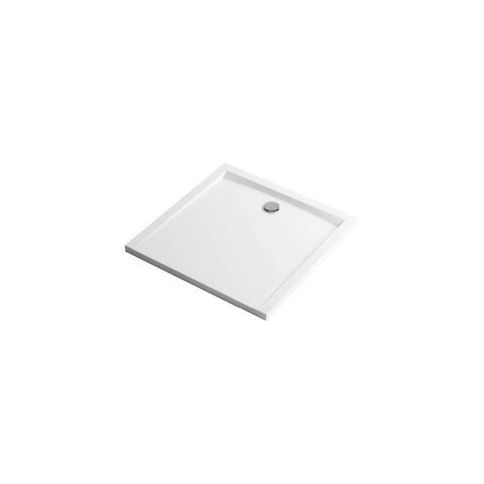 Forma Brodzik Kwadratowy 90X90 Biały