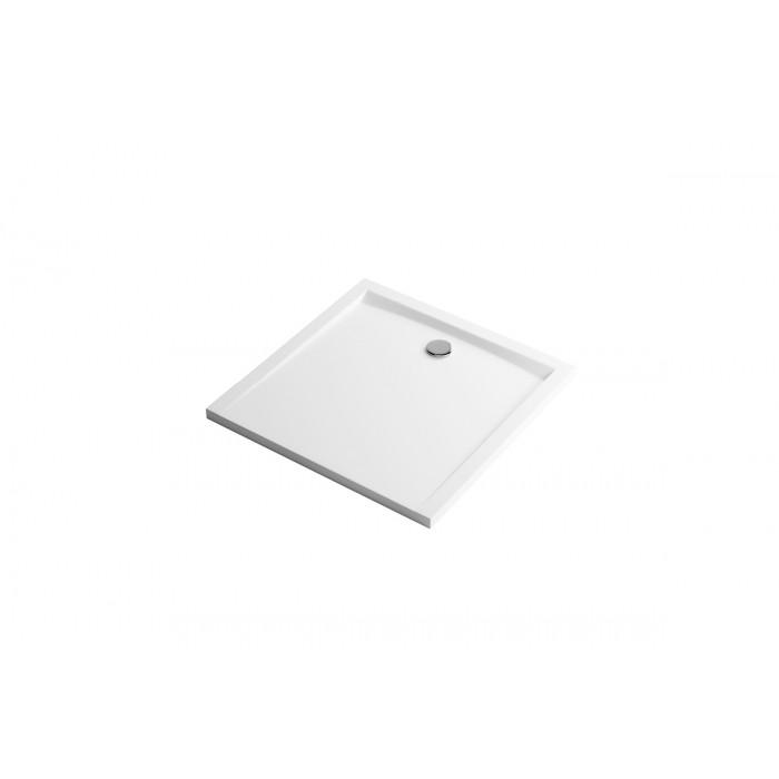 Forma brodzik Kwadratowy 80X80 Biały