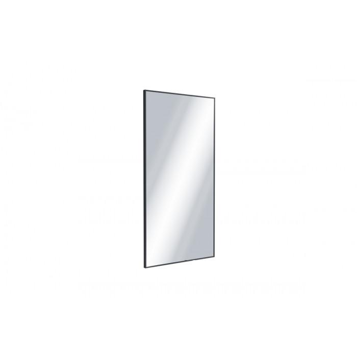Kuadro Lustro 100x50cm Czarny Mat