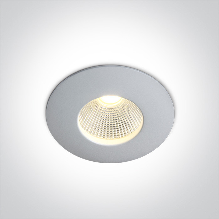 10112P/W/W biały wpust COB LED IP64 3000K 12W wymagany zasilacz o stałym napięciu 700mA