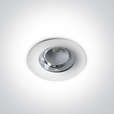10115G/W/C biała wpuszczana oprawa typu downlight LED IP65 4000K 15W zasilacz 350mA w komplecie
