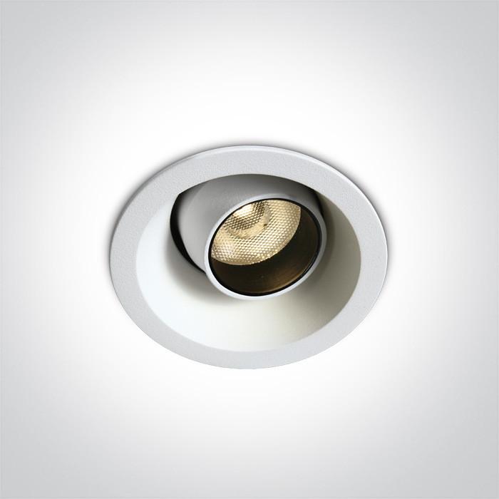 11106M/W/W biały wpust LED 3000K 6W wymagany zasilacz 350mA