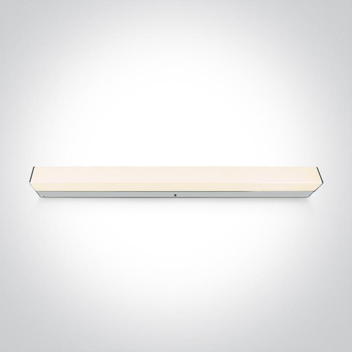 38114M/W chromowana oprawa nad lustro LED 15W 230V 3000K IP44 nieściemnialny zasilacz LED w komplecie