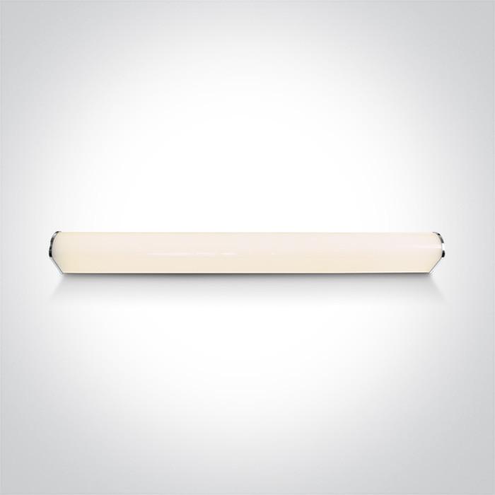 38120C/C chromowana oprawa nad lustro LED IP44 4000K 20W nieściemnialny zasilacz LED w zestawie