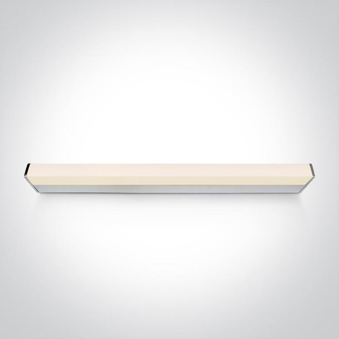 38121EL/C chromowana oprawa nad lustro LED IP44 4000K 23W nieściemnialny zasilacz LED w komplecie