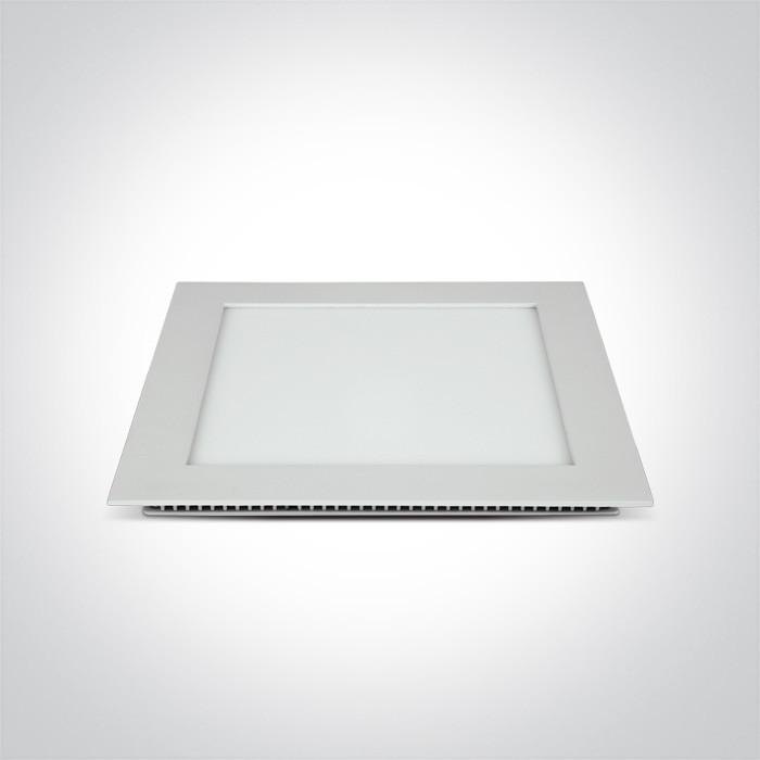 50122FA/W/W biały downlight LED IP40 3000K 22W nieściemnialny zasilacz LED 550mA w zestawie