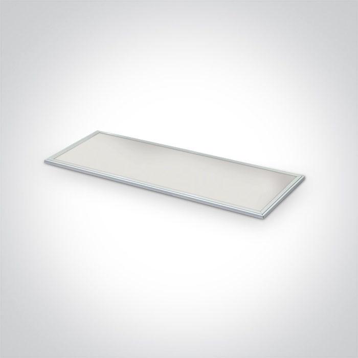 50148RE/W/C biały panel z możliwością montażu wpuszczanego lub natynkowego LED 4000K wymagany zasilacz LED 1200mA