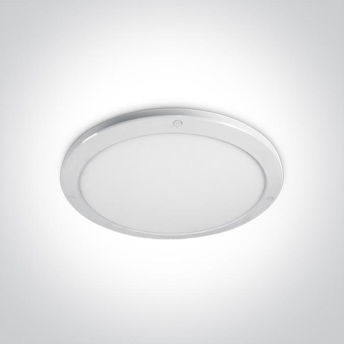 62038F/W/W biały plafon LED IP40 3000K 38W nieściemnialny zasilacz LED w komplecie