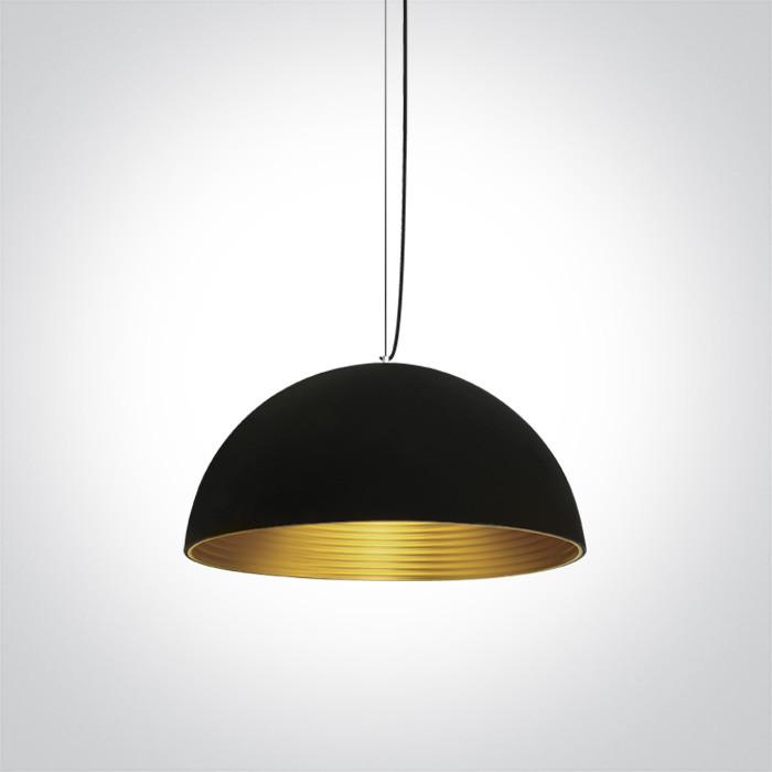 63022/B/BS czaro-mosiężna lampa wisząca E27 20W