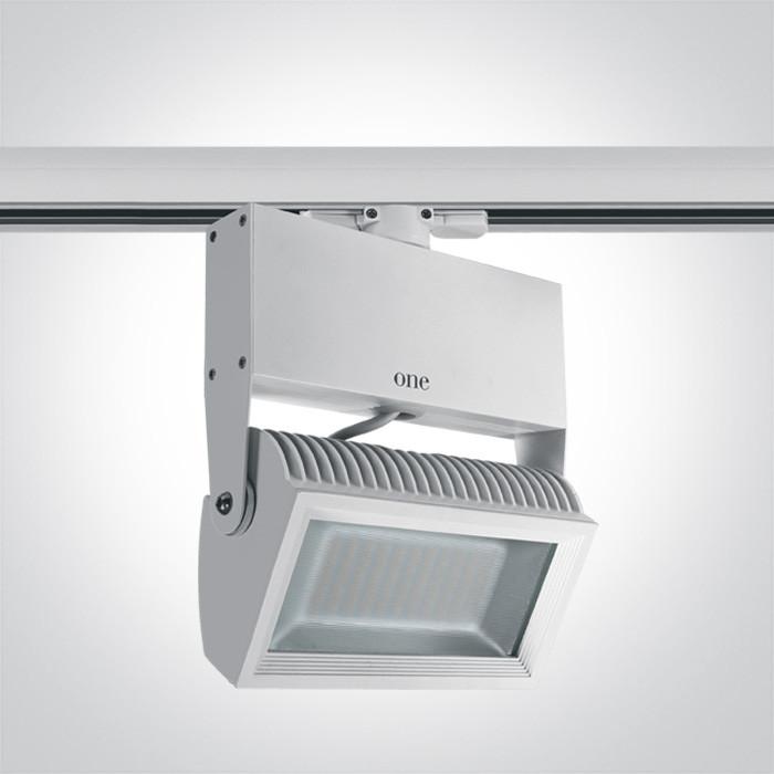 65042T/W/W biały naświetlacz track LED 3000K 42W zasilacz w zestawie
