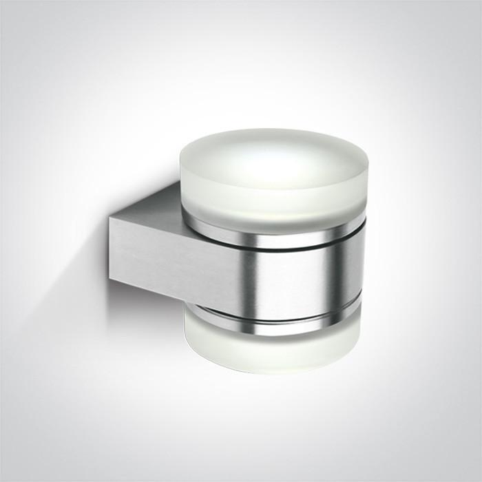 67302A/AL kinkiet aluminiowy 2x9W GX53