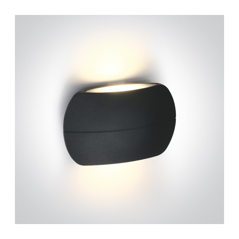 67378/AN/W kinkiet w kolorze antracyt LED 3000K 2x3W IP54 nieściemnialny zasilacz LED w zestawie
