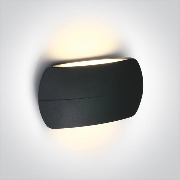 67378A/AN/W kinkiet w kolorze antracyt LED 3000K 2x6W IP54 nieściemnialny zasilacz LED w zestawie
