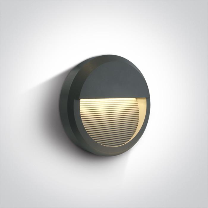 67430B/AN/W kinkiet w kolorze antracyt LED 3000K 8W IP65