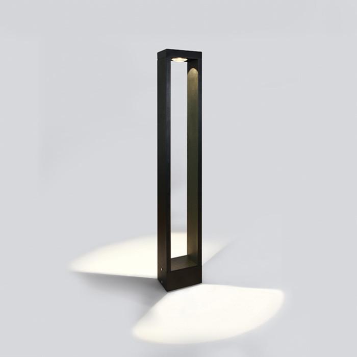67470A/B/W czarna lampa ogrodowa LED 3000K 10W IP65 nieściemnialny zasilacz LED w zestawie