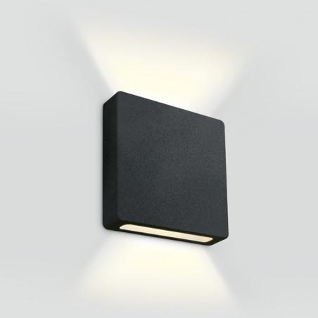 68074B/B/W czarny wpust ścienny LED 3000K 2W 700mA IP65 wymagany zasilacz 700mA