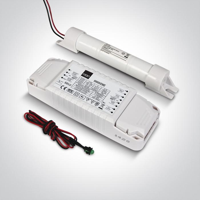 89005/EME awaryjny zestaw dla downlightów LED 5-50W 3 godziny utrzymane, akumulator Ni-Mh 3,6V 4,0Ah w komplecie