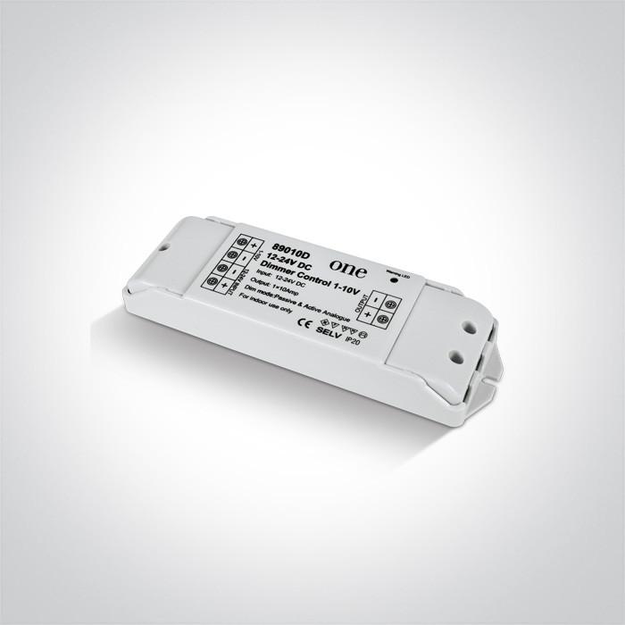 89010D ściemniacz o stałym napięciu 1-10V 12-24V  wymagany zasilacz o stałym napięciu  12-24V