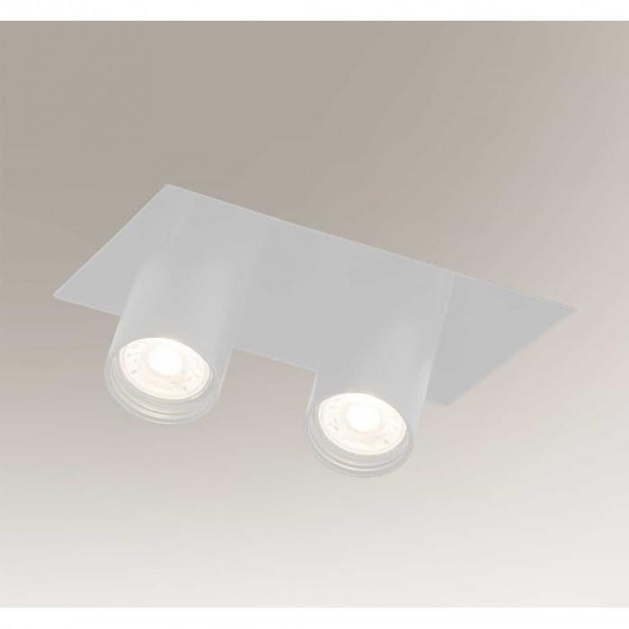 oprawa wpuszczana - 2 x MR 11 LED